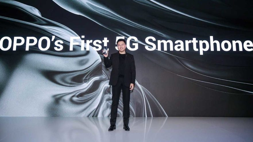 Launch of OPPO's first 5G smartphone on Revu Philippines
