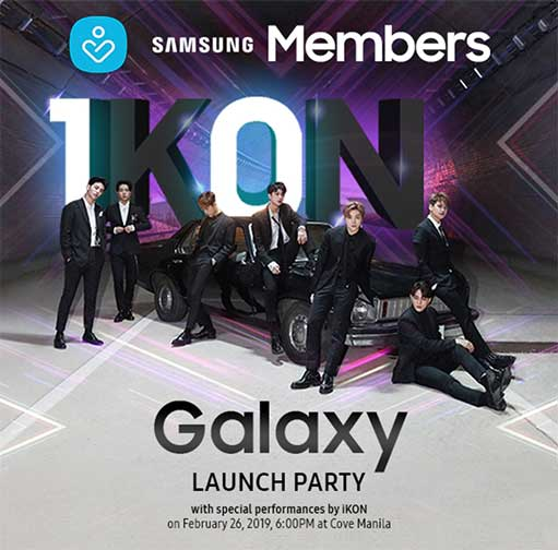 Samsung Galaxy S10, S10 Plus, S10e launch party invite on Revu Philippines