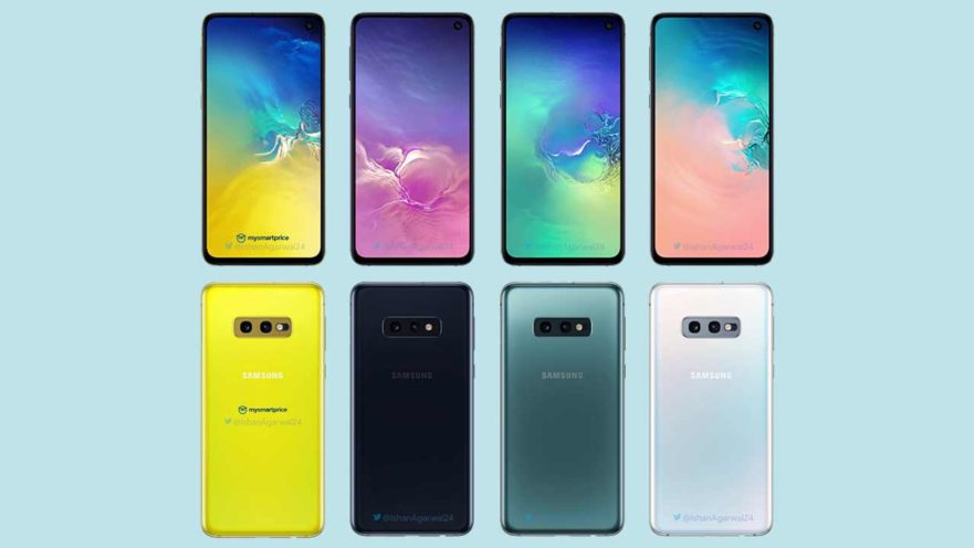 Samsung Galaxy S10, S10 Plus, S10e, S10 limited-edition model color options via Revu Philippines