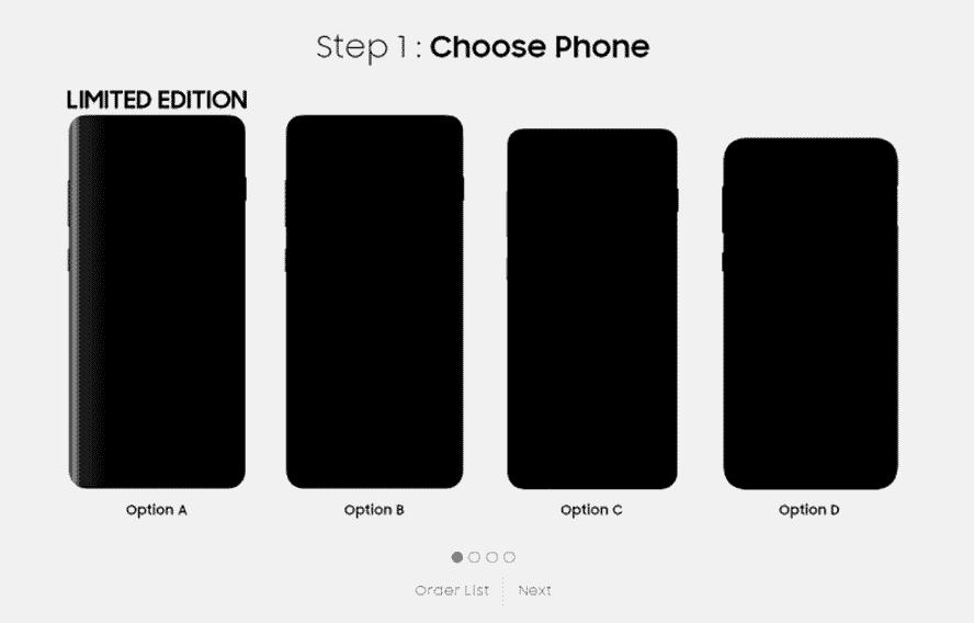 Samsung Galaxy S10, S10 Plus, S10e, S10 limited-edition model options via Revu Philippines