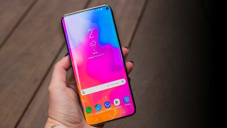 Samsung Galaxy S10 Plus alleged design via Revu Philippines