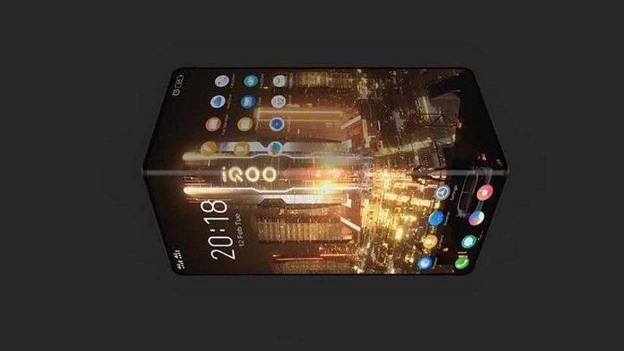 Vivo iQOO foldable phone image leak on Revu Philippines