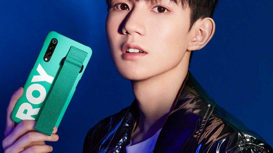 Xiaomi Mi 9 in a case with endorser TFBoys Roy or Wang Yuan via Revu Philippines