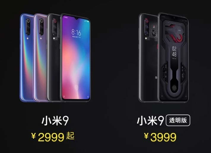 Xiaomi Mi 9 and transparent edition: Price, specs and availability on Revu Philippines