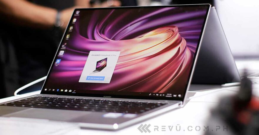 Huawei MateBook X Pro price and specs via Revu Philippines