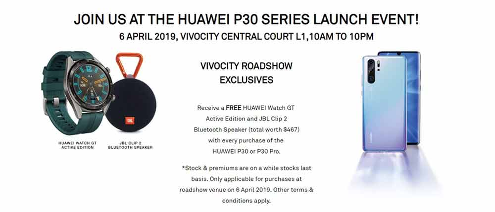 Huawei P30 and Huawei P30 Pro launch event in Singapore via Revu Philippines