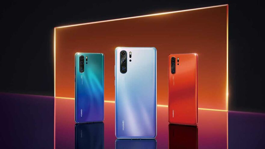 Huawei P30 Pro color variants except the black model, as tweeted by Evan Blass on Revu Philippines