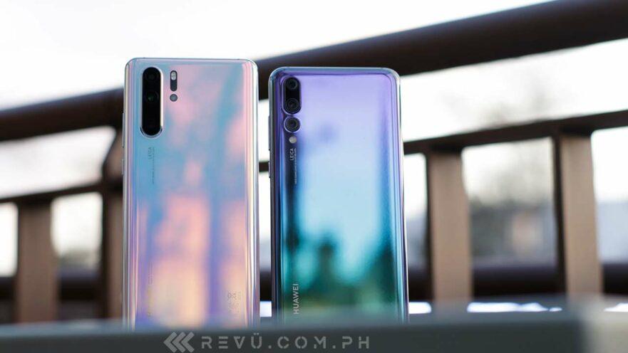Huawei P30, P30 Pro vs Huawei P20, P20 Pro: Comparison on Revu Philippines