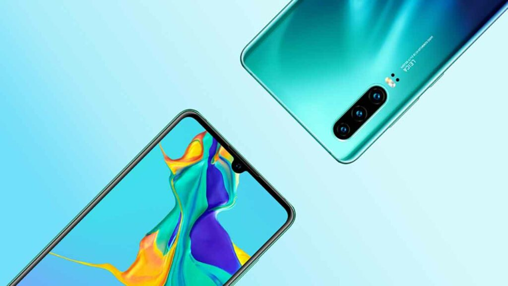 Huawei P30 official image leaked via Revu Philippines