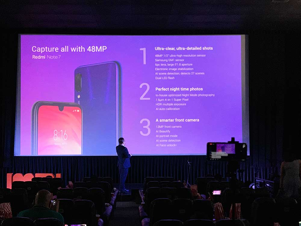 Redmi Note 7's 48-megapixel camera features via Revu Philippines