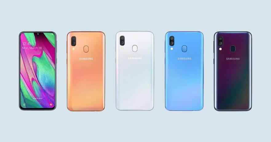 Samsung Galaxy A40 price and specs via Revu Philippines