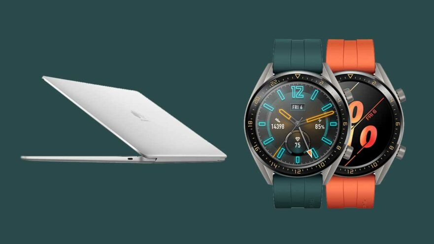 Huawei MateBook 13 and Huawei Watch GT Active Edition prices and specs via Revu Philippines