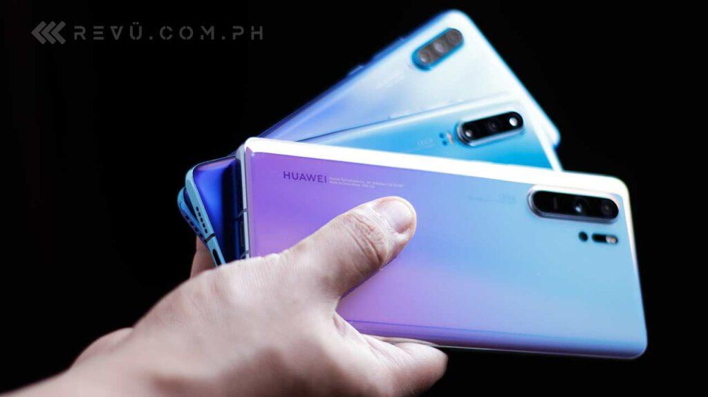 Huawei P30, Huawei P30 Pro, and Huawei P30 Lite specs and price via Revu Philippines