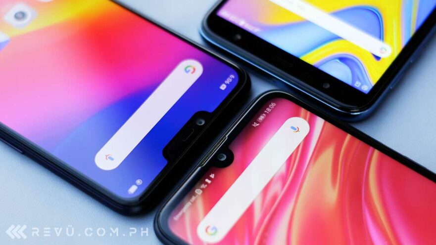 Huawei Y7 Pro 2019 vs OPPO A3s vs Samsung Galaxy J6 Plus: Review and comparison by Revu Philippines