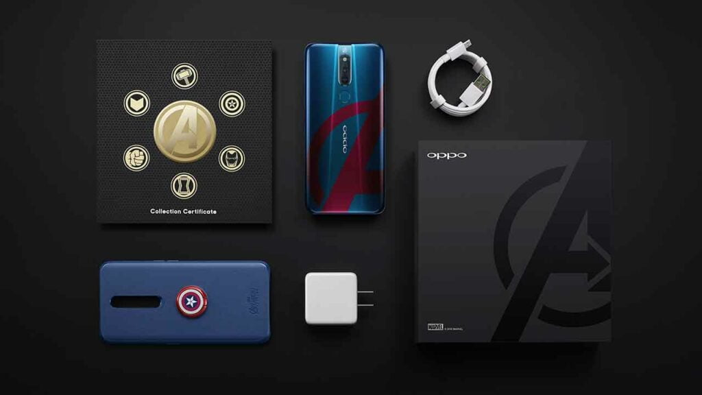OPPO F11 Pro Avengers Limited Edition price and specs on Revu Philippines