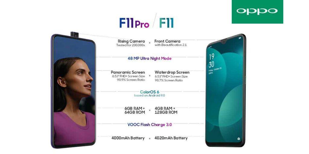 OPPO F11 Pro vs OPPO F11: specs and price comparison by Revu Philippines