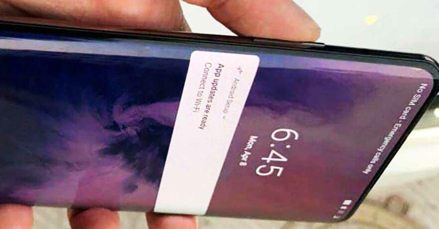 OnePlus 7 Pro design leak on Revu Philippines