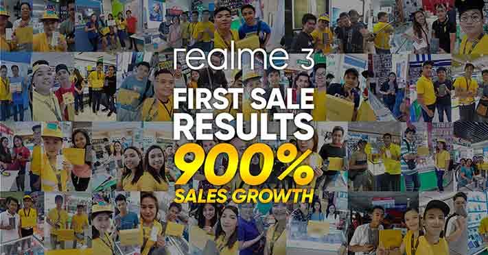 Realme 3 vs Realme C1 sales via Revu Philippines