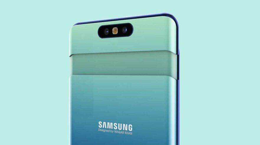 Samsung Galaxy A90 or Samsung Galaxy A80 video render via Revu Philippines