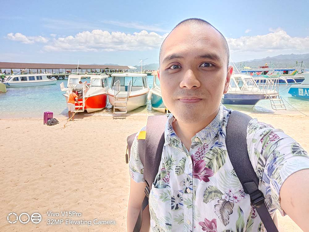 Vivo V15 Pro sample group selfie shot with HDR by Revu Philippines