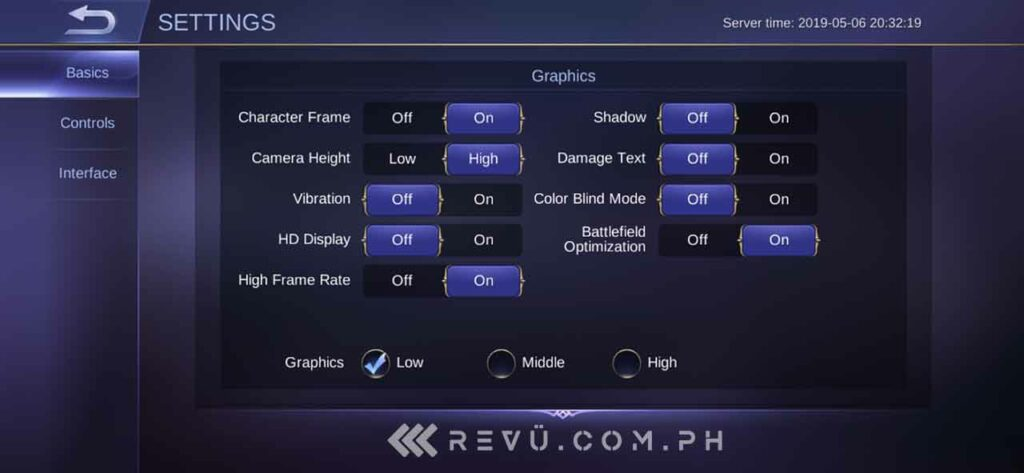 Realme 3 Pro gaming: Mobile Legends in high frame rate mode by Revu Philippines
