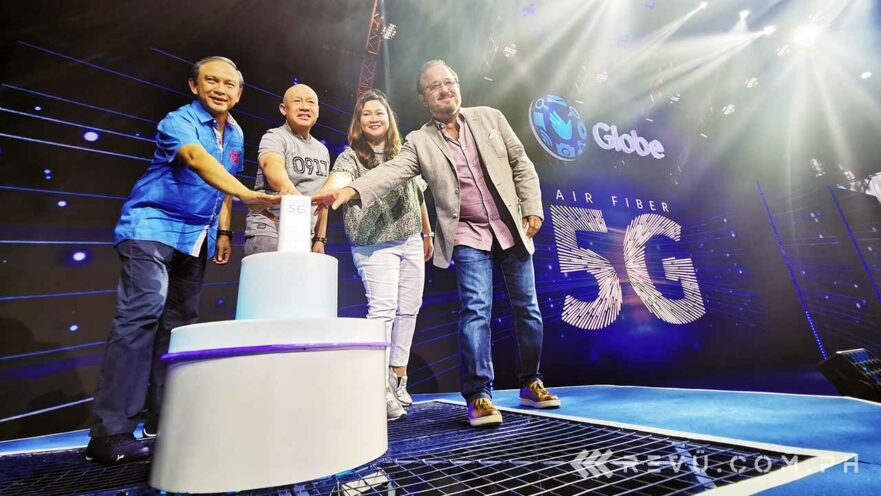 Globe 5G launch, postpaid plans, and areas covered by Revu Philippines