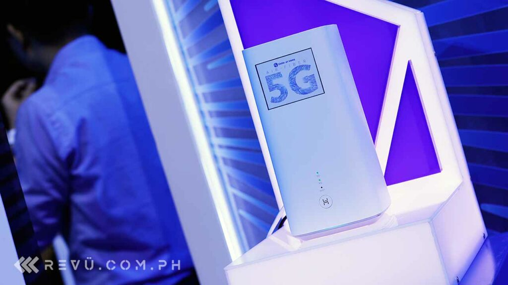Globe 5G: Huawei 5G CPE home router by Revu Philippines