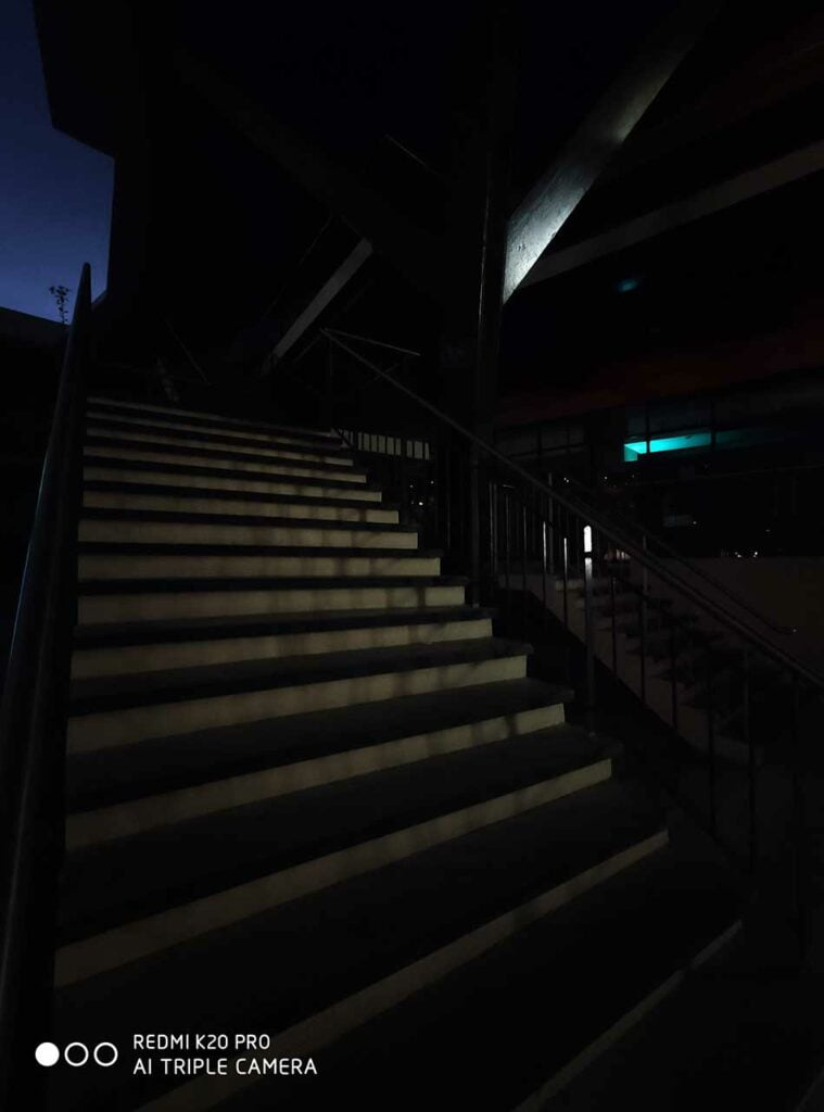 Redmi K20 Pro sample ultra-wide picture shot at night by Revu Philippines