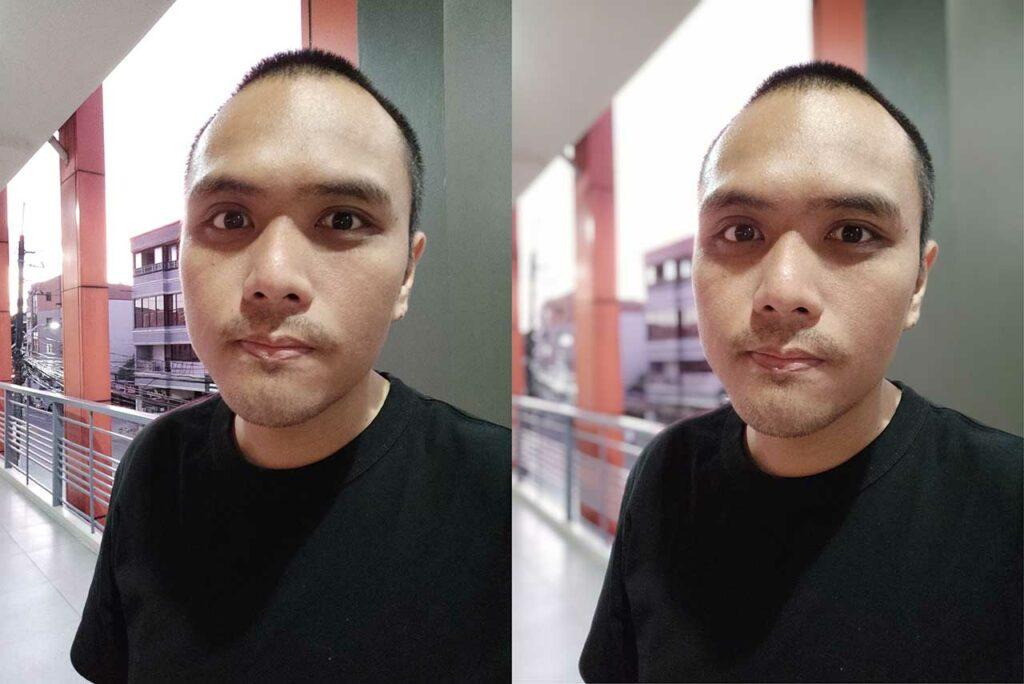 Redmi K20 Pro sample selfies: Auto mode vs Portrait mode by Revu Philippines