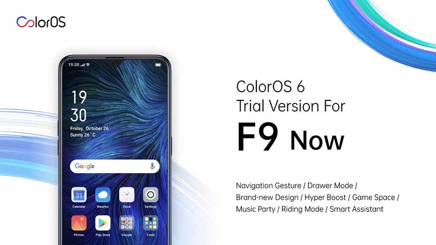 ColorOS 6 new features, which will come to OPPO F9 first via Revu Philippines