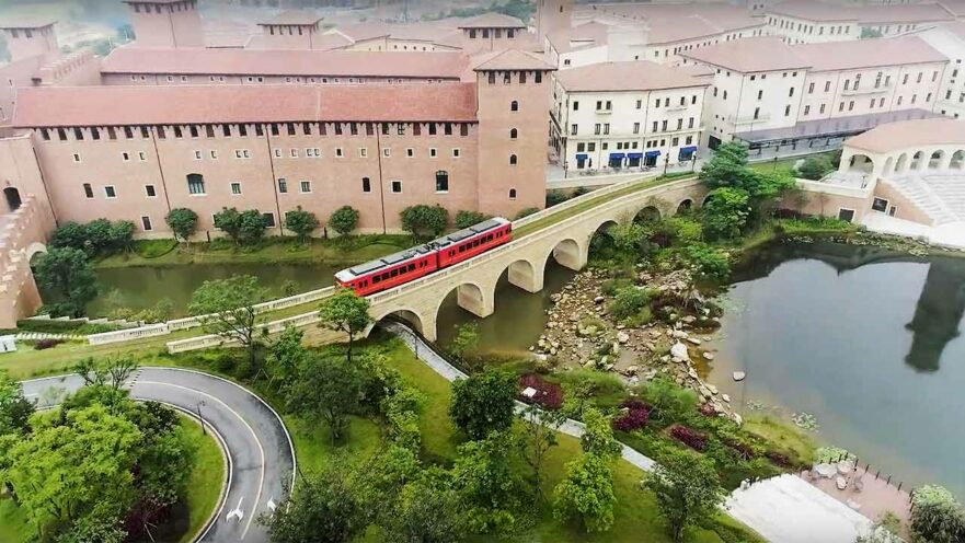 European-styled Huawei Ox Horn Campus in Songshan Lake, Dongguan, China, by Revu Philippines