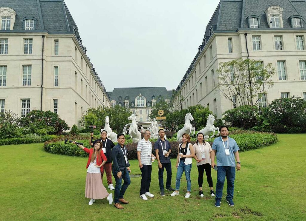 Media visit the European-styled Huawei Ox Horn Campus in Songshan Lake, Dongguan, China by Revu Philippines