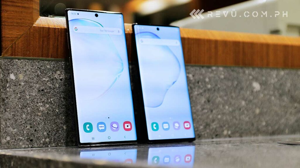 Samsung Galaxy Note 10 and Samsung Galaxy Note 10 Plus price and specs by Revu Philippines