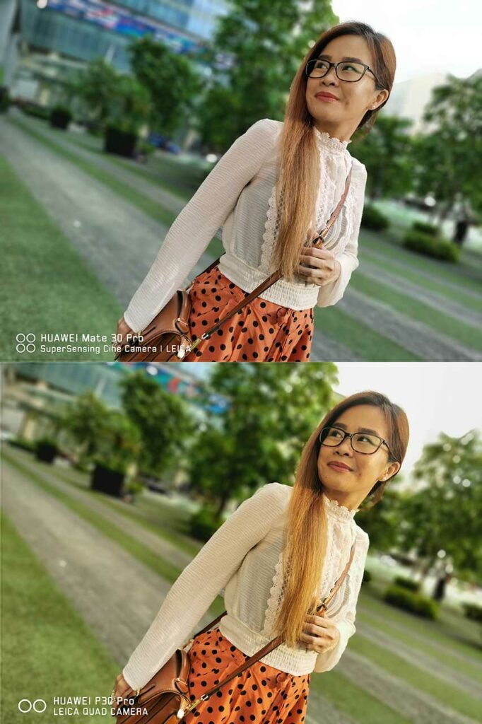 Huawei Mate 30 Pro vs Huawei P30 Pro: Sample pictures in portrait mode or with bokeh effects in review by Revu Philippines