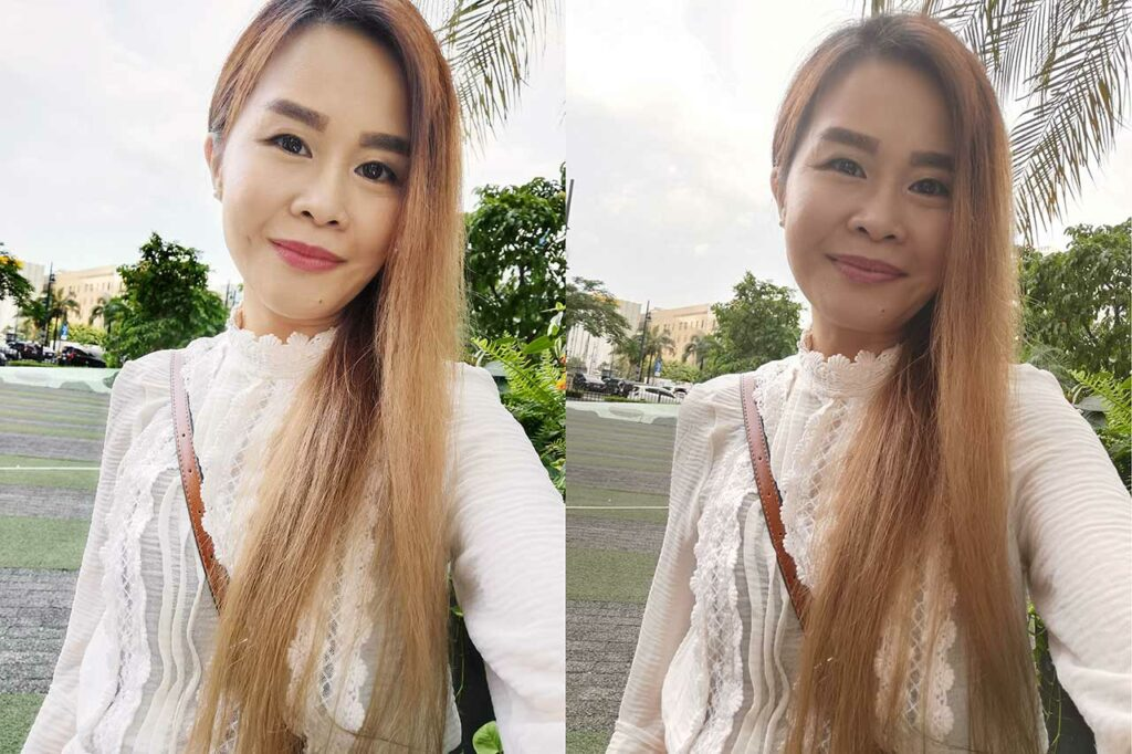 Huawei Mate 30 Pro vs Huawei P30 Pro sample selfie pictures in review by Revu Philippines