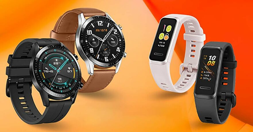 Huawei Watch GT 2, Huawei Band 4, and Huawei Band 4e price and specs via Revu Philippines