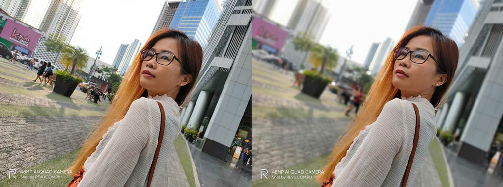 Realme 5 Pro sample pictures: Auto mode vs Portrait mode or with bokeh effect in review by Revu Philippines