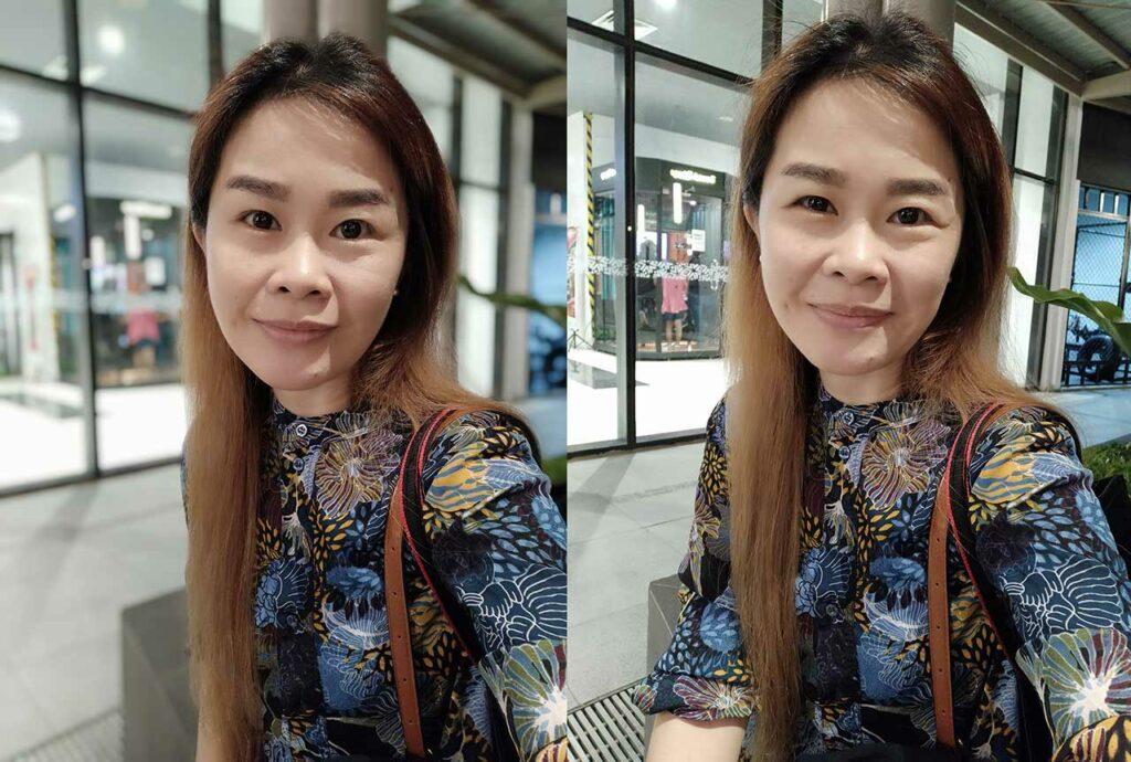 Redmi Note 8 sample selfie pictures in camera review: Portrait mode vs Auto mode by Revu Philippines