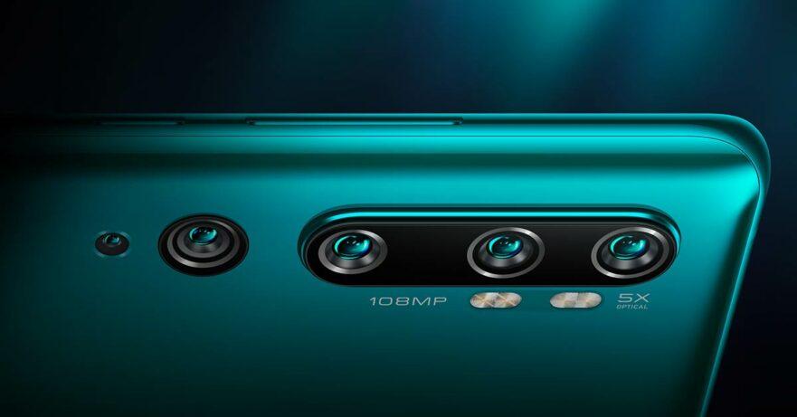 Xiaomi Mi CC9 Pro (or Mi Note 10?) rear cameras via Revu Philippines
