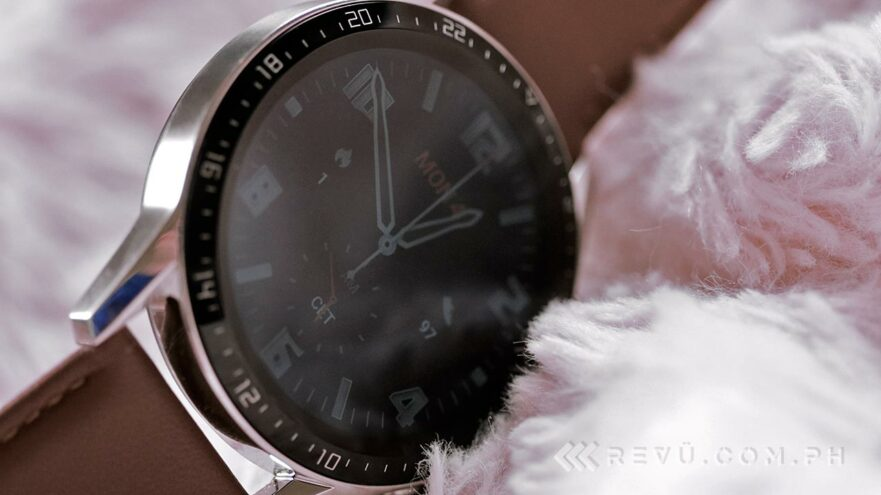 Huawei Watch GT 2 review, price, and specs via Revu Philippines