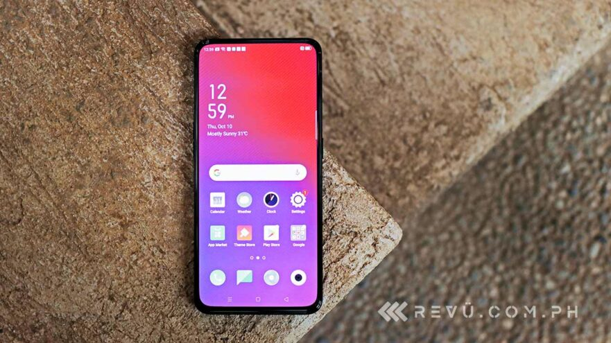 OPPO Reno 2 price and specs via Revu Philippines