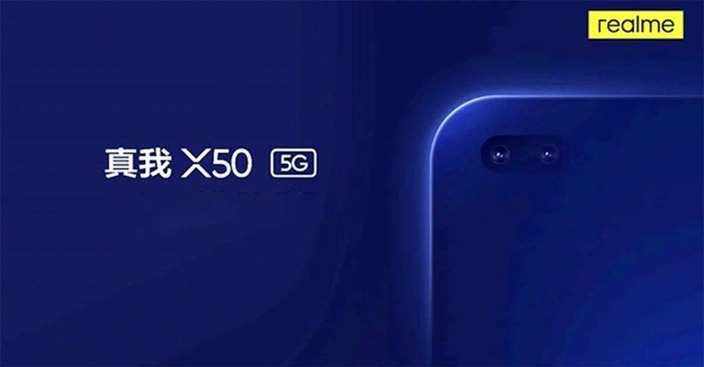 Realme X50 5G design teaser and leaked specs via Revu Philippines