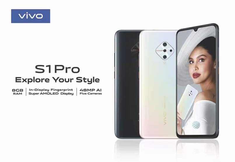 Vivo S1 Pro official KV or key visual starring Maine Mendoza, price, specs, and availability via Revu Philippines