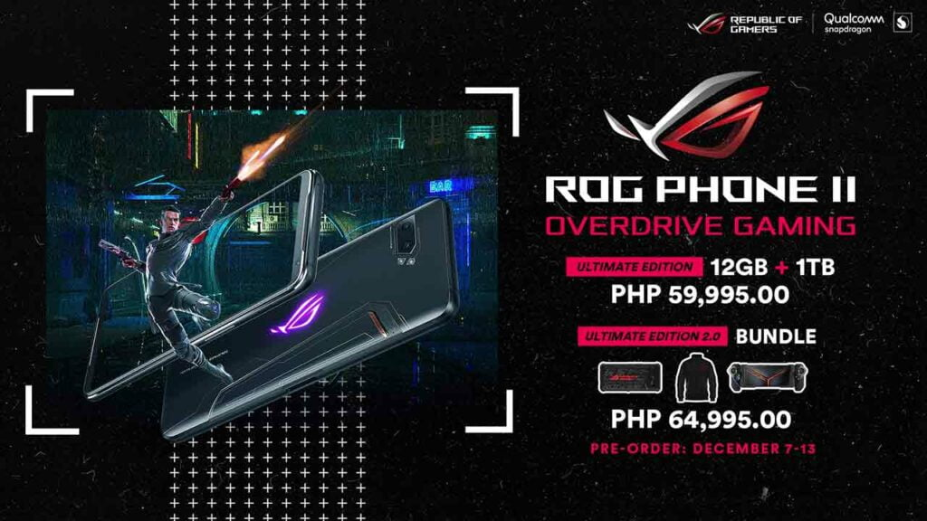 ASUS ROG Phone 2 Ultimate Edition bundles: Their price and specs via Revu Philippines