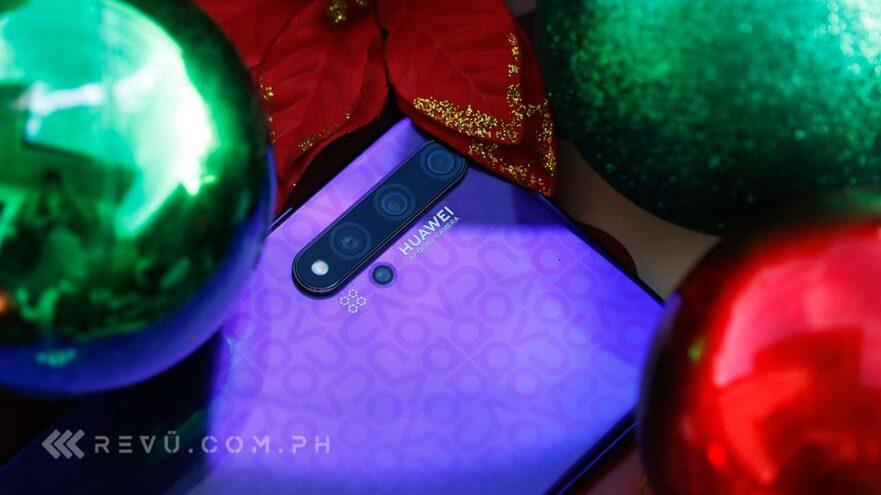 Huawei Nova 5T review, price, and specs via Revu Philippines