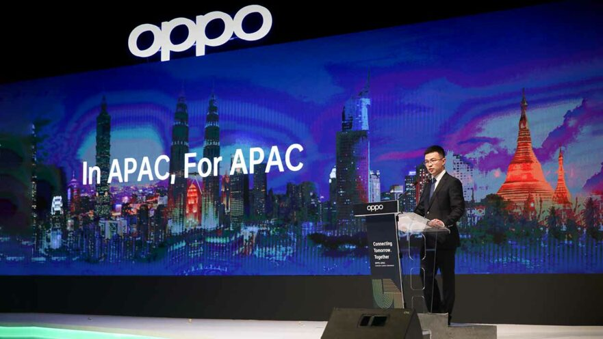 Jimmy Yi at the OPPO APAC Region hub launch in Malaysia via Revu Philippines