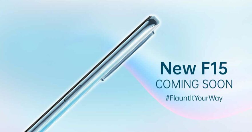 OPPO F15 launch teaser via Revu Philippines