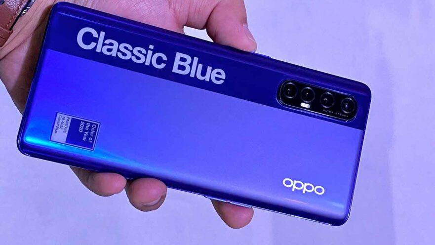 OPPO Reno 3 Pro Classic Blue Pantone color, price, specs, and availability via Revu Philippines