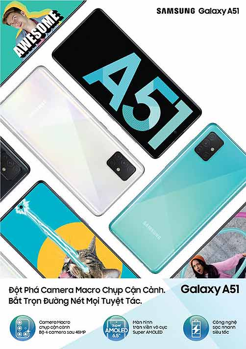 Samsung Galaxy A51 price and specs via Revu Philippines