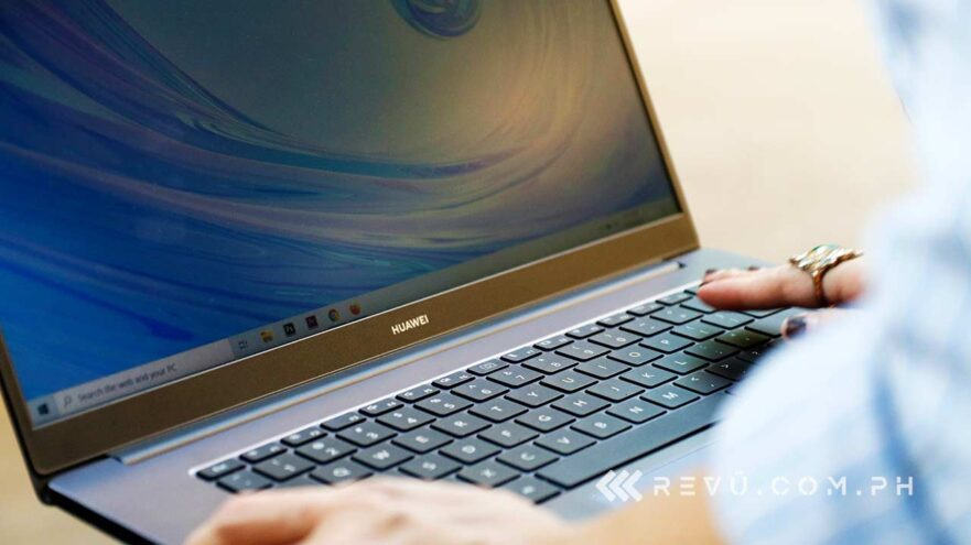 Huawei MateBook D 15 price and specs via Revu Philippines